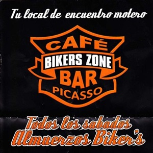 CAFE BIKERS ZONE BAR PICASSO
